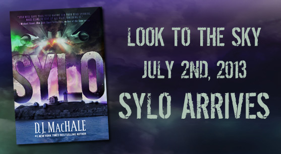SYLO by D.J. MacHale arrives on July 2nd, 2013